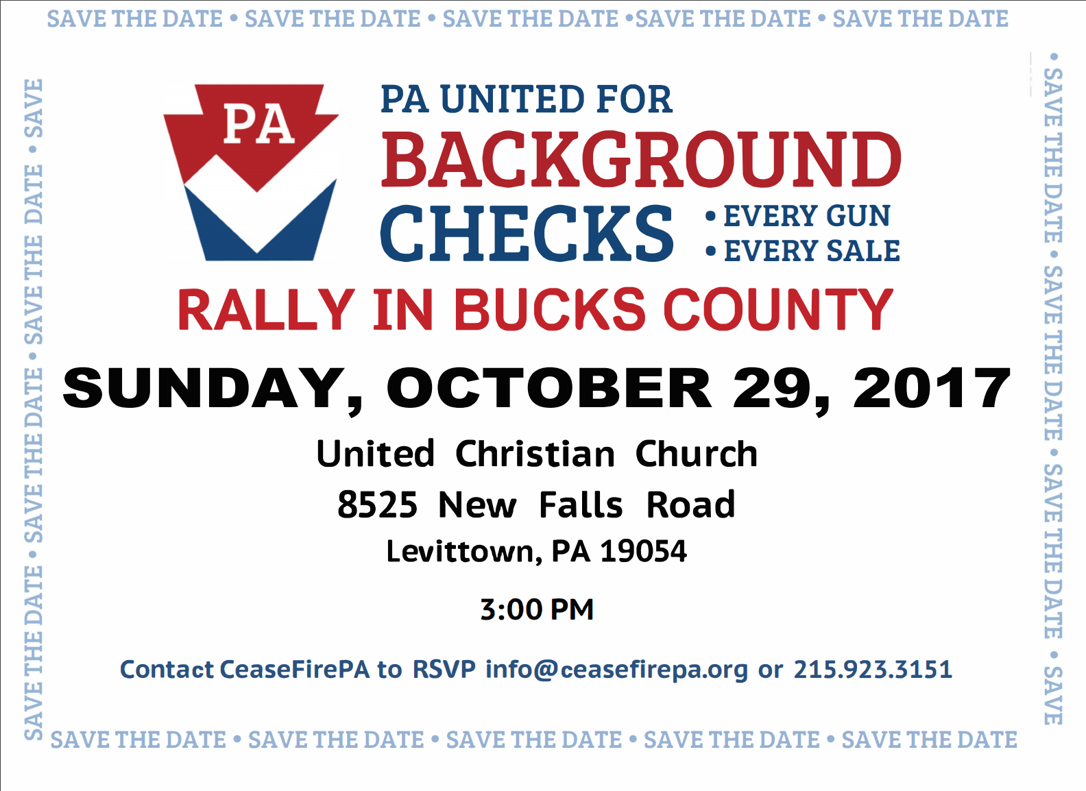 Universal Background Check Rally